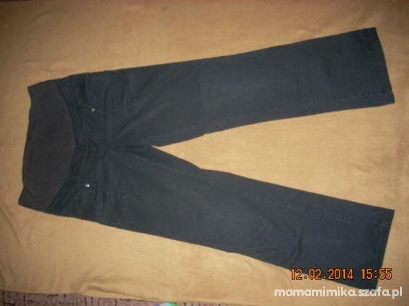 jeansy ciążowe czarne
