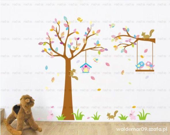 naklejka na sciane drzewo