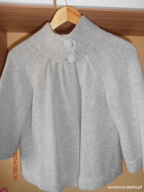 Ciążowy sweterek grzybek wdzianko bolerko