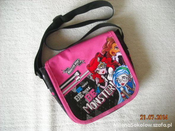 Torba na ramię Monster High jak NOWA