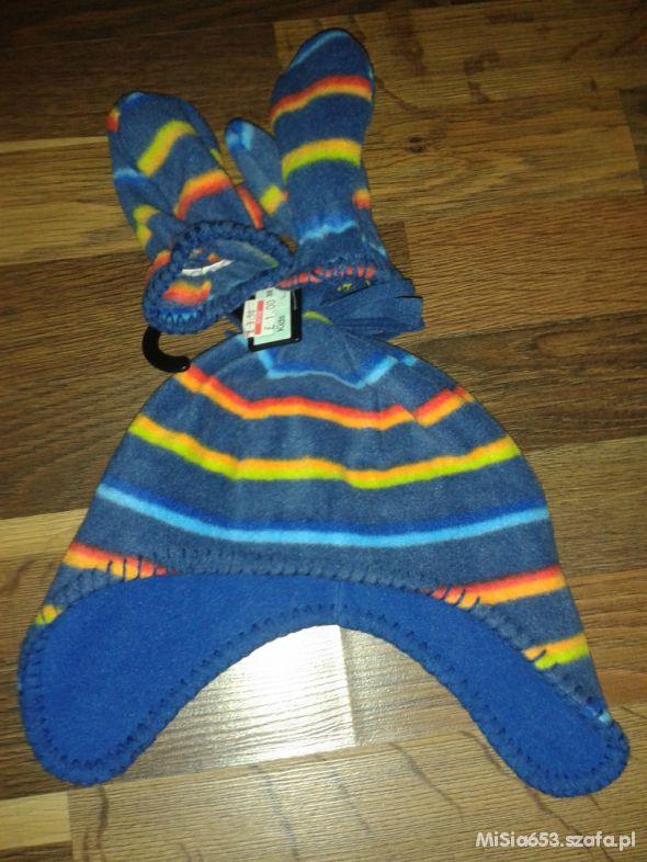 Czapka i rękawiczki 2 4 lata