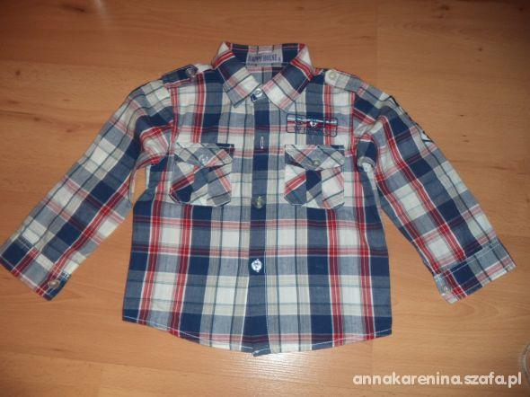 Koszula w kratę 98
