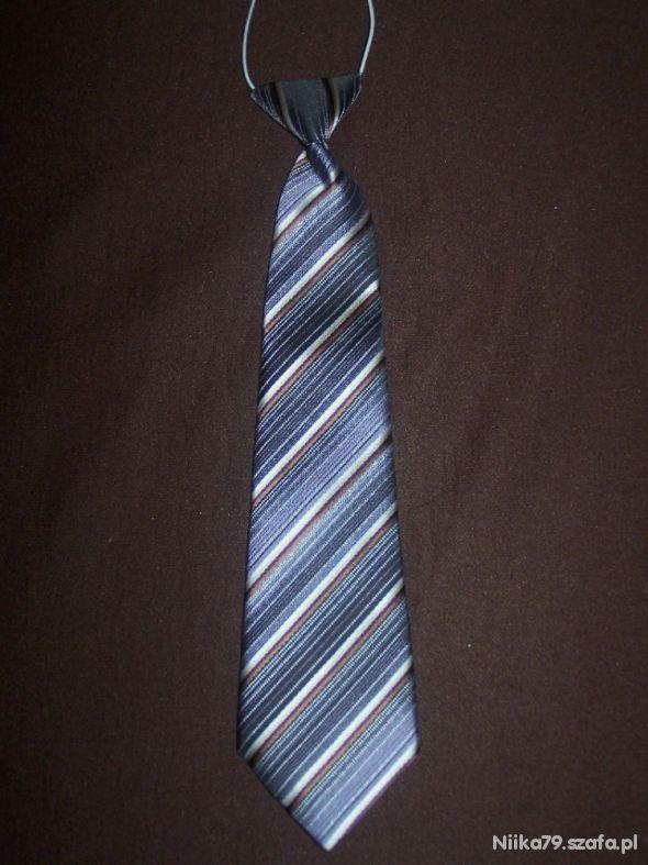 Krawat z gumką