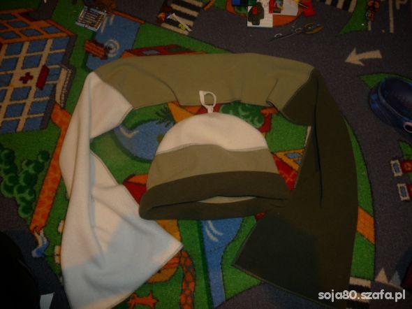 szalik czapka polar ok 3 4 lata