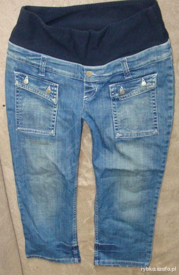rybaczki jeans h&m mama 36 s