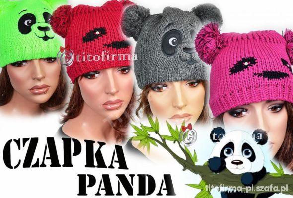 Czapki panda Kielce
