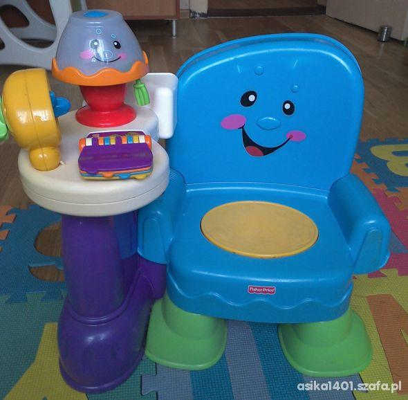 Krzesełko uczydełko Fisher Price