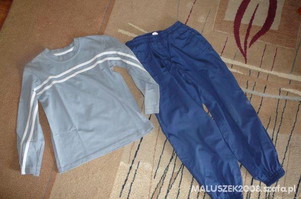 Mothercare bluzeczka plus spodnie dresowe 128 cm