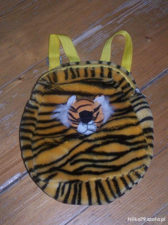 Tygrysek plecak