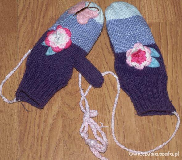 Rękawiczki na polarku H&M 104 110