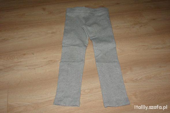 Spodnie tregginsy H&M 116