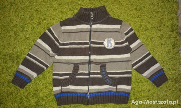 Ciepły sweter rozmiar 104