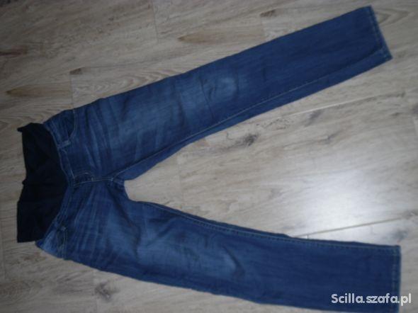 spodnie jeansowe ciążowe L XL