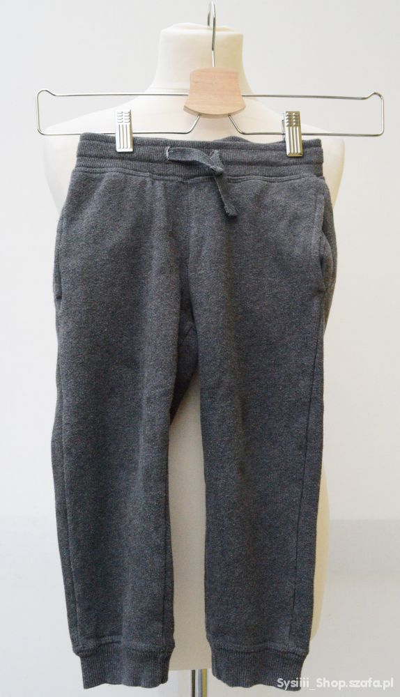 Spodnie Dresowe Dresy Szare H&M 98 cm 2 3 lata