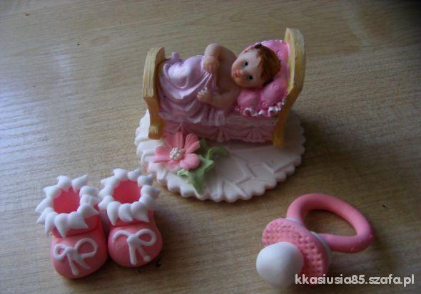 Ozdoba na torta na chrzest
