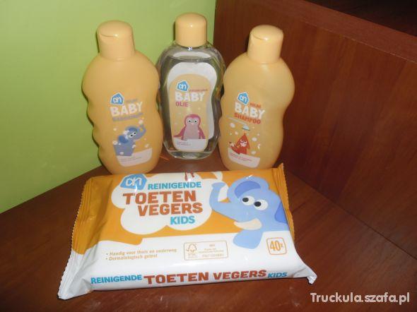 Zestaw holenderskich kosmetyków dla niemowląt