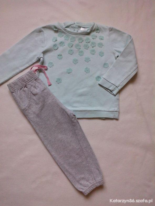 Zestaw bluza spodnie 12 18 msc