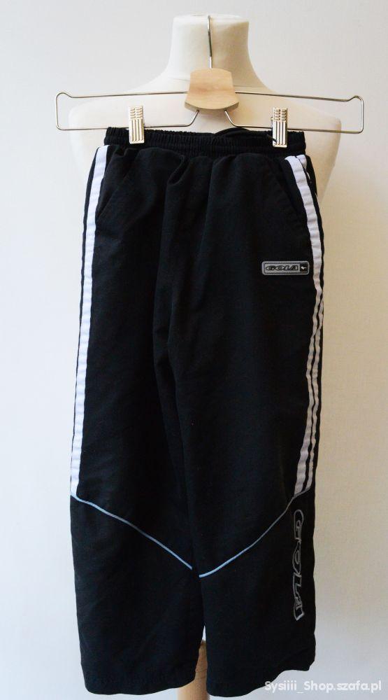Spodnie Dresowe Dresy Czarne 116 122 cm 6 7 lat