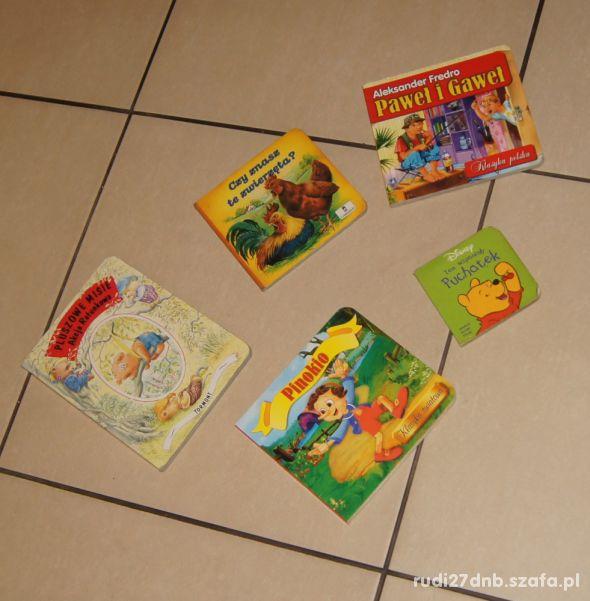 Książki książeczki dla malucha