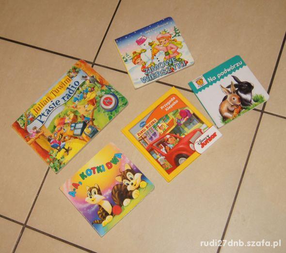 Książeczki książki wierszyki dla malucha