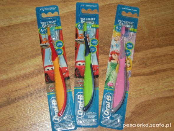nowa szczoteczka OralB Stages dla dzieci