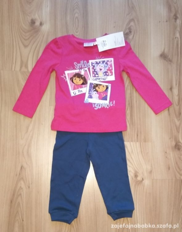 Nowy komplet dziewczęcy Dora 98 nickelodeon