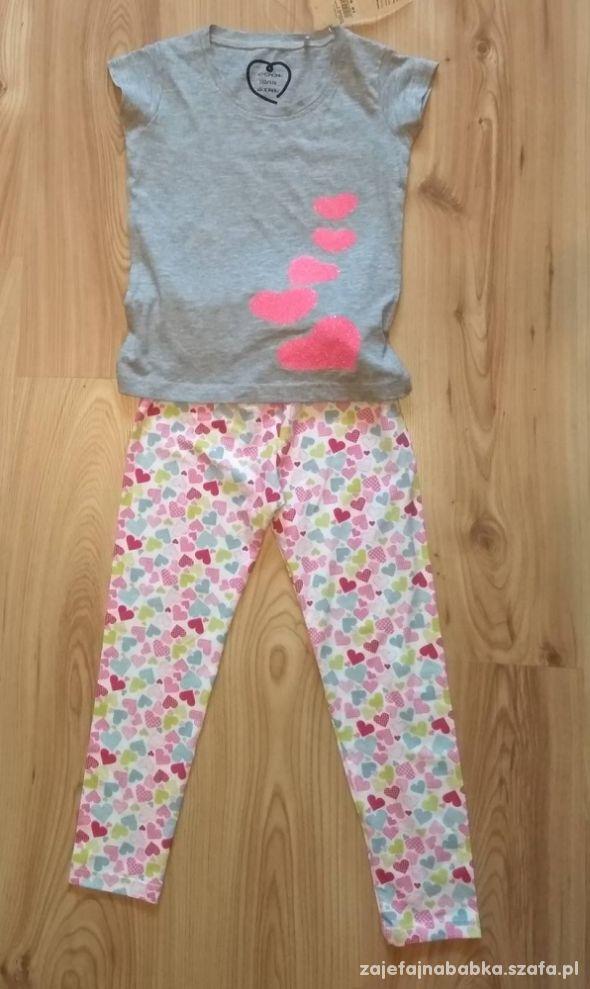 Nowy komplecik dla dziewczynki bluzeczka i getry