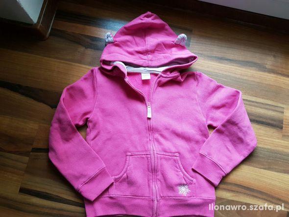 WYPRZEDAŻ Gymboree różowa bluza roz 122 128 M 7 8