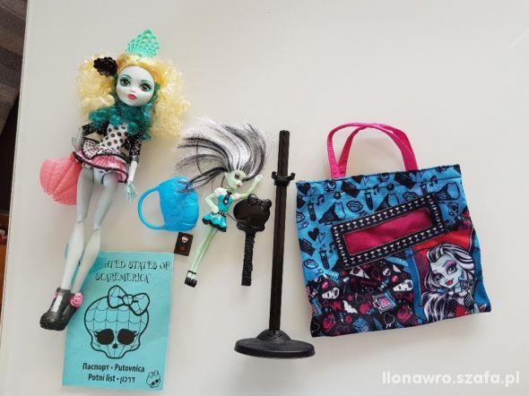 Lalka Monster High plus dodatki