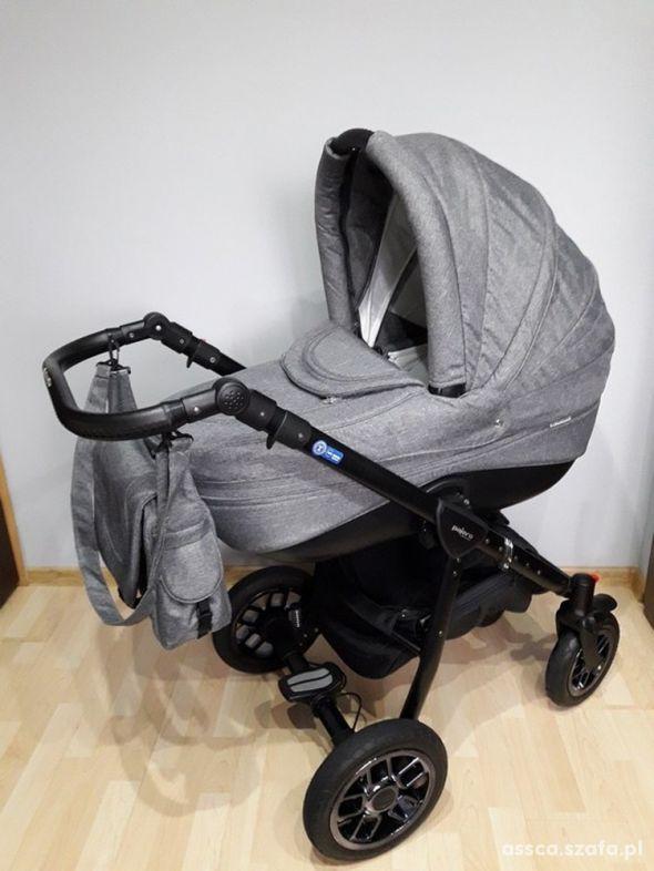 Wózek PAJERO ALU LEN Adamex 2w1 na gwarancji IDEAŁ