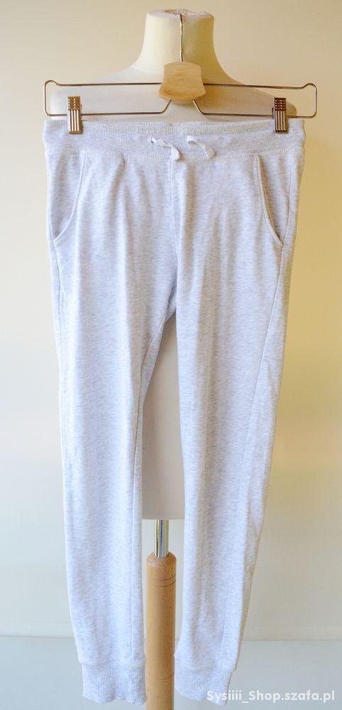 Spodnie Szare Dresy H&M Gumki 158 cm 11 12 lat