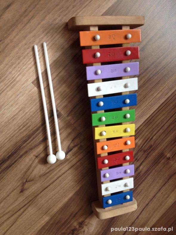 flet prosty cymbałki