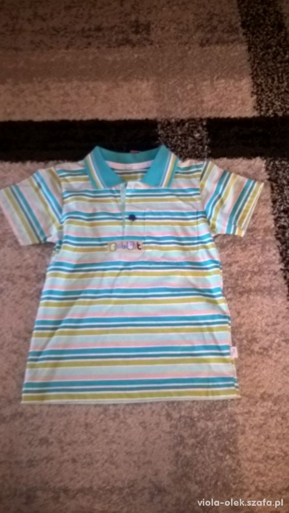 sliczna koszulka polo jak nowa 104