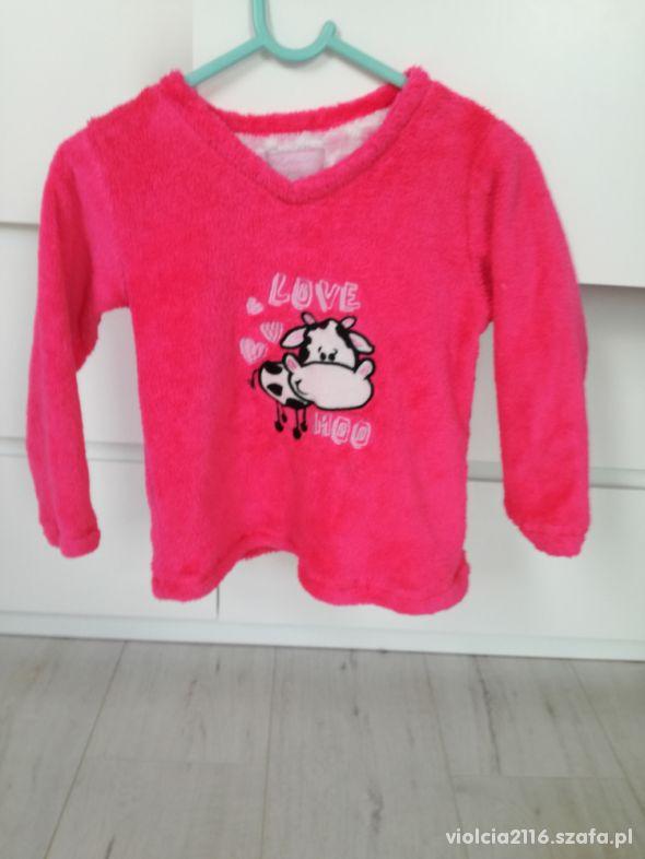 Bluza neon róż 98