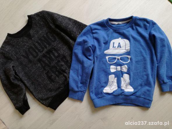 2x bluzy dla chłopca 104cm