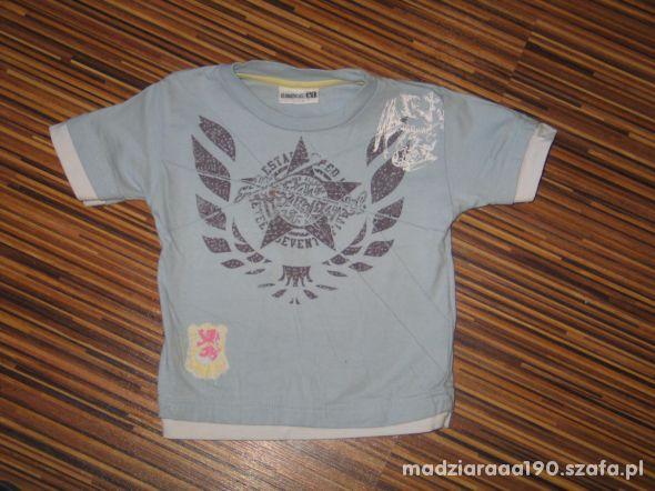 niebieska koszulka Allstar rozmiar 80 86