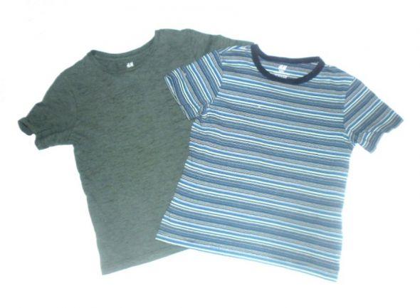 H&M 2 koszulki r 6 8 lat 116 128