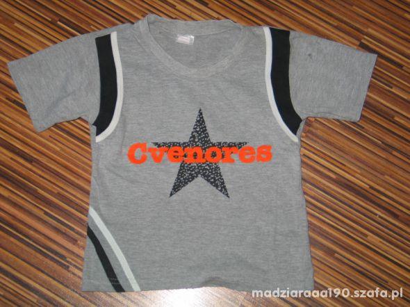 szara koszulka rozmiar 116