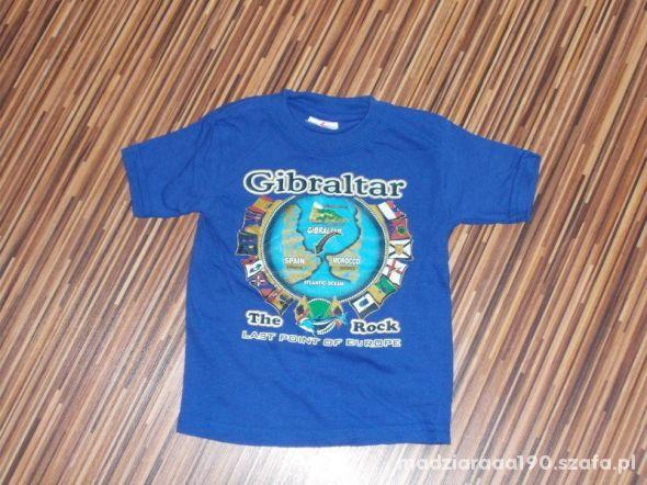 koszulka Gibraltar rozmiar 86