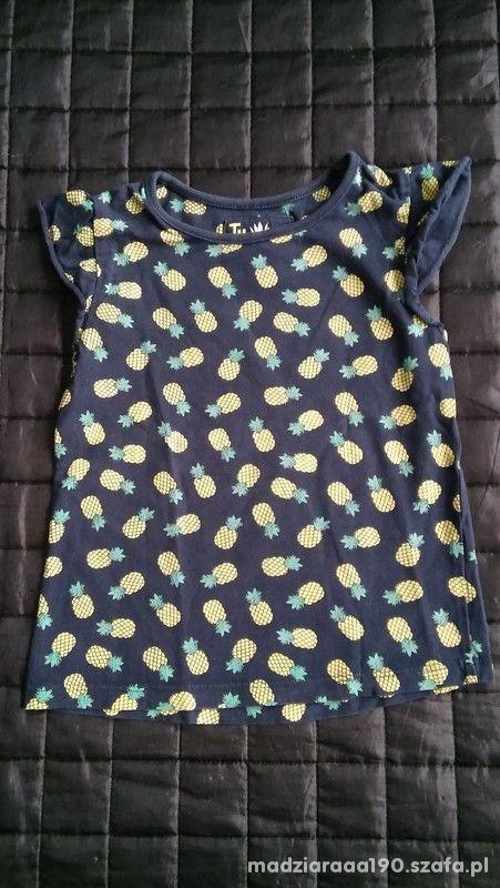 Bluzeczka ananasy rozm 104