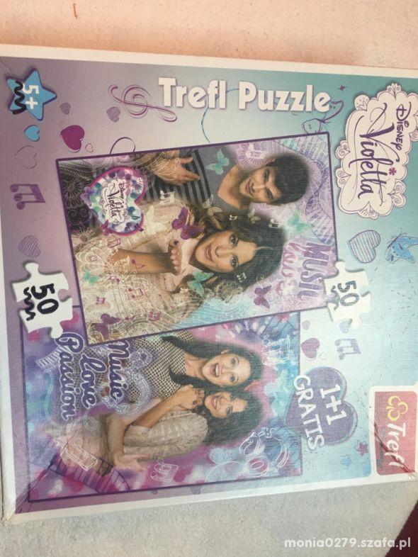 Puzzle Violetta 2 x 50 elementów