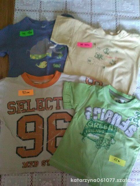 4 koszulki