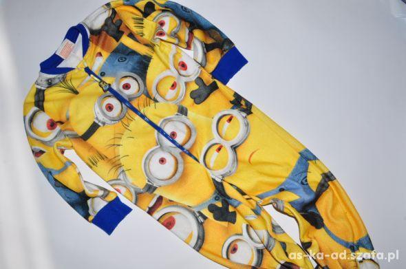 1995617e8715ab Pajac piżama kombinezon Minionki 104 cm w Piżamy, śpioszki, pajace ...