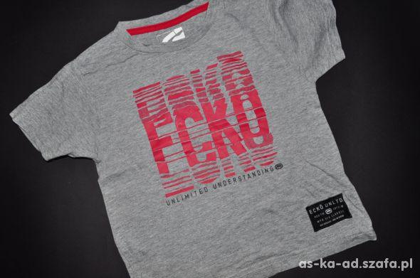 ecko bluzka koszulka 104 cm