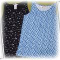 Dwa topy koszulki h&m
