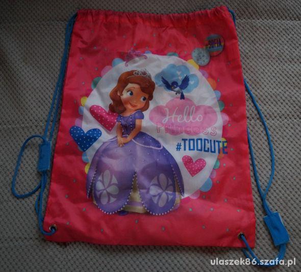 worek plecak Księżniczka Zosia