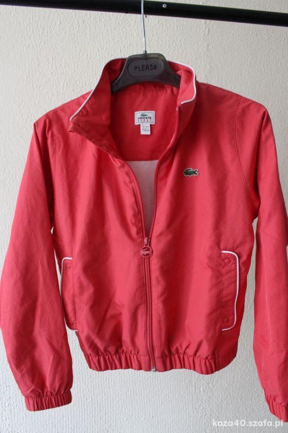 Różowa bluza dziewczęca lacoste 152cm