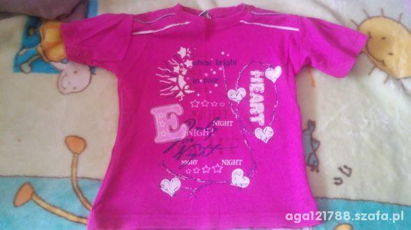 Różowa bluzeczka