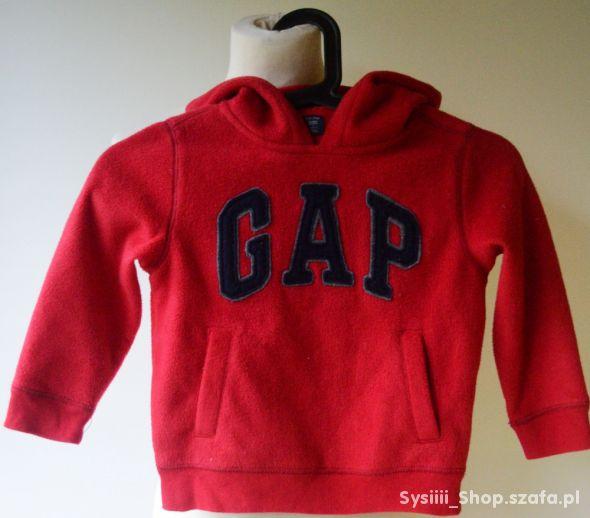 Bluza Polar Czerwona Gap 104 cm 4 lata