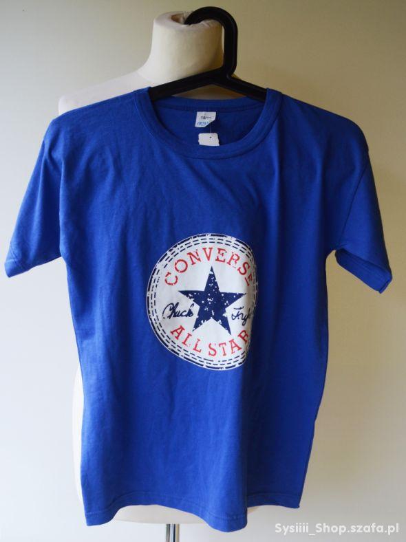 Bluzka Niebieska Nowa Converse 10 11 lat 146 cm
